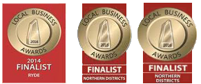 2014 – 2016 Local Business Awards